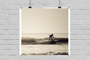 Pôster de Surf Balneário Camboriú